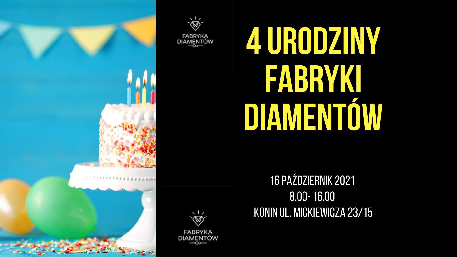 4 Urodziny Fabryki Diamentów